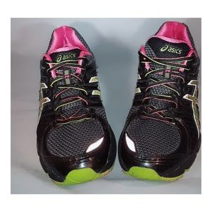 Asics  multi-xolored athletic shoes
